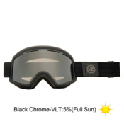 Vonzipper Beefy Goggles 2013, Black Satin-Black Chrome, medium