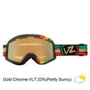 Vonzipper Beefy Goggles 2013, Vibrations-Gold Chrome, medium