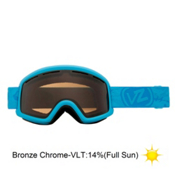 Vonzipper Beefy Goggles 2013, Blue Satin-Bronze Chrome, medium