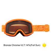 Vonzipper Beefy Goggles 2013, Tangerine Satin-Bronze Chrome, medium