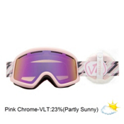Vonzipper Beefy Goggles 2013, Tyed Up Pink-Pink Chrome+fluff, medium