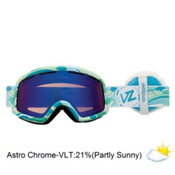 Vonzipper Beefy Goggles 2013, B4bc Blue-Astro Chrome+fluffy, medium