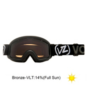 Vonzipper Trike Kids Goggles 2013, Black Gloss-Bronze, medium