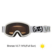 Vonzipper Trike Kids Goggles 2013, White Gloss-Bronze, medium