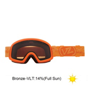 Vonzipper Trike Kids Goggles 2013, Tangerine Satin-Bronze, medium