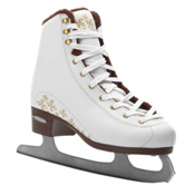Bladerunner Aurora Womens Figure Ice Skates, White-Gold, medium