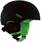 R.E.D. Hi-Fi Helmet 2013, Black-Green, medium