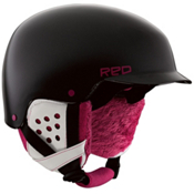 R.E.D. Asylum Womens Helmet 2013, Black Pearl, medium