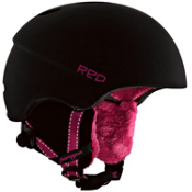 R.E.D. Paragon Womens Helmet 2013, Matte Pearl Black, medium