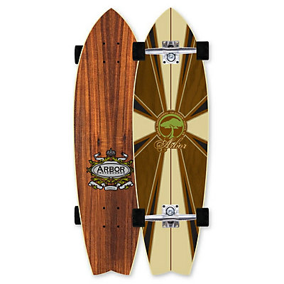 Arbor GB Sizzler Complete Longboard, , large