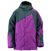 Ride Georgetown Mens Insulated Snowboard Jacket, Dark Violet, medium