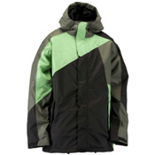 Ride Georgetown Mens Insulated Snowboard Jacket, Black, medium