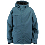 Ride Gatewood Mens Shell Snowboard Jacket, Blue Marine Herringbone, medium