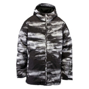 Ride Hawthorne Mens Insulated Snowboard Jacket, Chalk Print, medium
