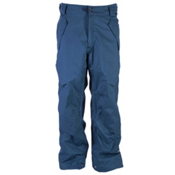 Ride Phinney Mens Snowboard Pants, Blue Marine Herringbone, medium