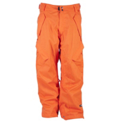 Ride Phinney Mens Snowboard Pants, Dark Orange Herringbone, medium