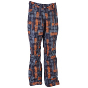 Ride Madrona Mens Snowboard Pants, Worn Out Print, medium