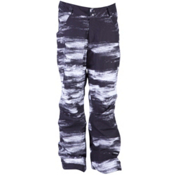 Ride Madrona Mens Snowboard Pants, Chalk Print, medium