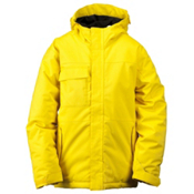 Ride Cobra Boys Snowboard Jacket, Yellow, medium