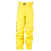 Ride Charger Kids Snowboard Pants, Yellow, medium