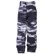 Ride Charger Kids Snowboard Pants, Chalk Print, medium