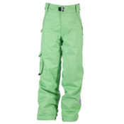 Ride Charger Kids Snowboard Pants, Green, medium