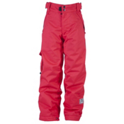 Ride Charger Kids Snowboard Pants, Red, medium