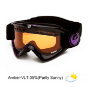 Dragon DX Goggles 2013, Icon Purple-Amber, medium