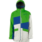 Scott Watson Mens Insulated Ski Jacket, Grass-Vapor, medium