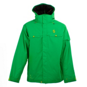 Scott Souza Mens Insulated Ski Jacket, Grass, medium