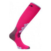 Euro Sock Snowdrop Medium Womens Ski Socks, Pink, medium