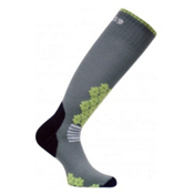 Euro Sock Snowdrop Medium Womens Ski Socks, Dark Grey, medium
