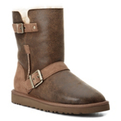 UGG Australia Classic Short Dylyn Womens Boots, Bomber Jacket Chestnut, medium