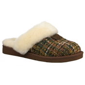 UGG Australia Cozy Tweed Womens Slippers, Chocolate, medium