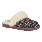 UGG Australia Cozy Tweed Womens Slippers, Rum Raisin, medium
