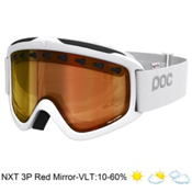 POC Iris 3P Goggles 2015, White-Nxt 3p Red Mirror, medium