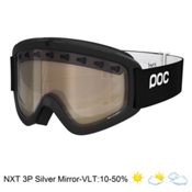 POC Iris 3P Goggles 2015, Black-Nxt 3p Brown Mirror, medium