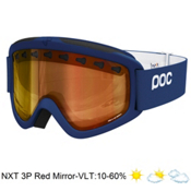 POC Iris 3P Goggles 2013, Dark Blue-Nxt 3p Red Mirror, medium