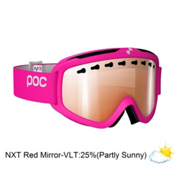 POC Iris 3P Goggles 2015, Flourescent Pink-Nxt 3p Red Mirror, medium