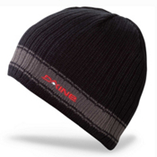 Dakine Ribbed Pinline Hat, Black-Charcoal, medium