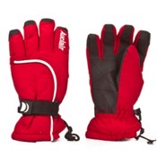 Auclair Curves Womens Gloves, Red, medium