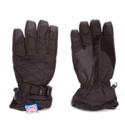 Auclair Stitchy Womens Gloves, Black-Black, medium