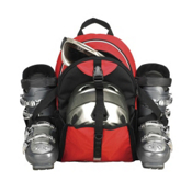 Transpack Sidekick Lite Ski Boot Bag 2016, Red, medium