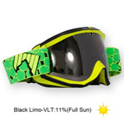 SHRED Soaza Toric Goggles 2013, Yellow Black-Black Limo, medium