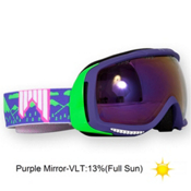 SHRED Slab Goggles 2013, Purple-Purple Mirror, medium