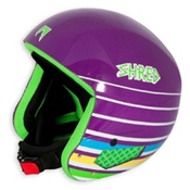 SHRED Mega Brain Bucket Helmet 2013, Purple Lines, medium