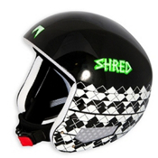SHRED Mega Brain Bucket Helmet 2013, The Burg Black, medium