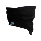 Turtle Fur Polartec Windbloc Shaped Neck Warmer, Black, medium