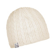Turtle Fur Cable Solid Hat, Cream, medium
