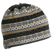 Turtle Fur Sterling Tassel Hat, Black, medium